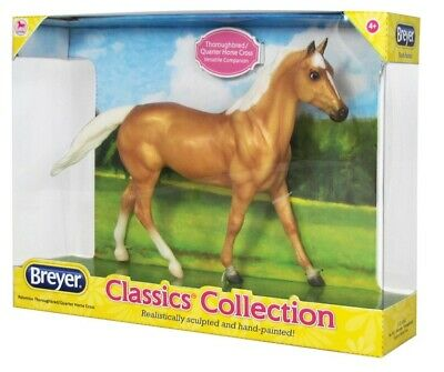 £22.99 • Buy Breyer Classic Collection Palomino Thoroughbred/Quarter Horse Cross 1:12 932