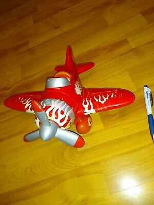 £3.99 • Buy Charlie Bear 10  Talking/ Airplane Sounds Red Toy Plane Inc NEW Batteries