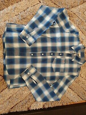 £4 • Buy Men's Holister Checked Shirt Long Sleeve Size Large L