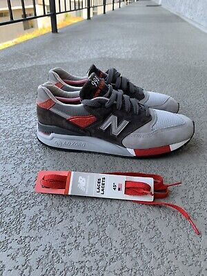 $130 • Buy New Balance M998CPL - USA 998  Age Of Exploration  (Grey / Red) Mens 10