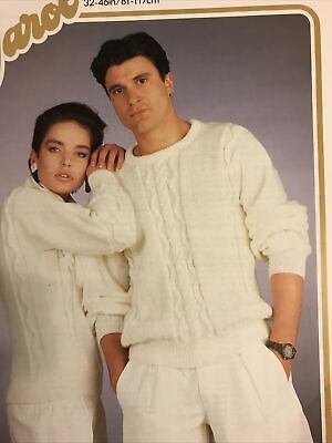 £0.85 • Buy His & Hers Sweaters Knitting Pattern  In Dk