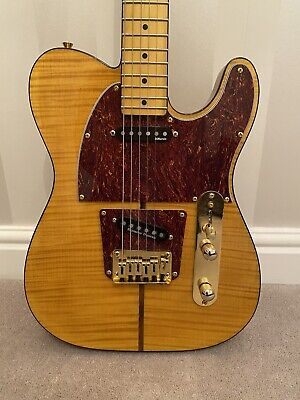 £275 • Buy Harley Benton (Mad Cat) Telecaster With Upgrades And Hohner The Prinz Logo