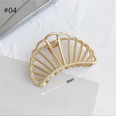 $ CDN3.40 • Buy Women's Metal Hair Claw Clips Accessories Retro Hollow Hairpins Barrette Clamps