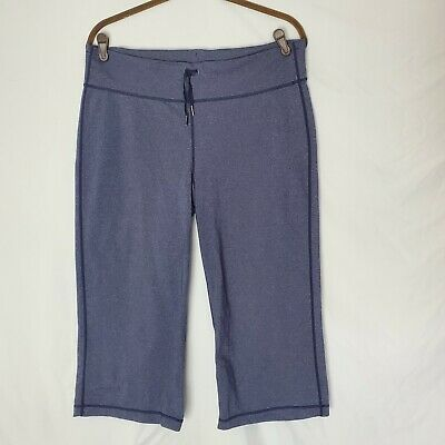 $ CDN48.58 • Buy Lululemon Heathered Blue Relaxed Fit Crop Size 12