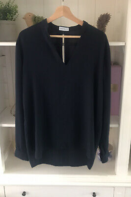 AU25 • Buy Scanlan Theodore Navy Blue Top Blouse Size 10