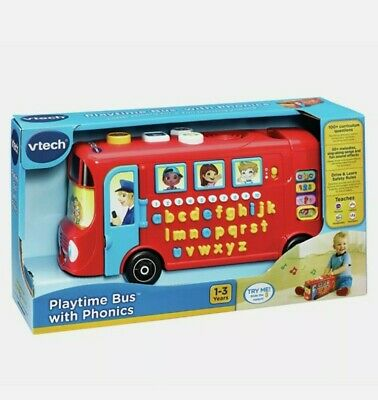 £29.98 • Buy Vtech 150003 Playtime Bus Educational Playset, Learning Toy With Phonic Sounds,
