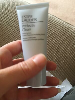 £0.99 • Buy Estee Lauder Perfectly Clean Multi Action Foam Cleanser/purifying Mask 30ml