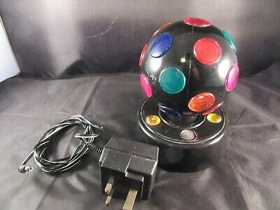£4 • Buy Rotating Multicoloured Disco Ball Light - Used But Working