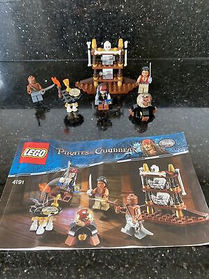 £4.50 • Buy Lego Pirates Of The Caribbean The Captains Cabin 4191