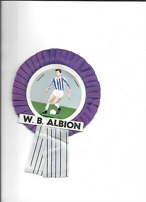 £20 • Buy West Bromwich Albion Football Club 1960s Rosette