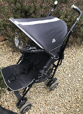 £45 • Buy Maclaren Techno XT Stroller / Pushchair With Rain Cover And Travel Bag