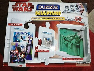 £11 • Buy Star Wars Clone Wars Edition 3d Puzzle Sculpture Jigsaw Special Pieces