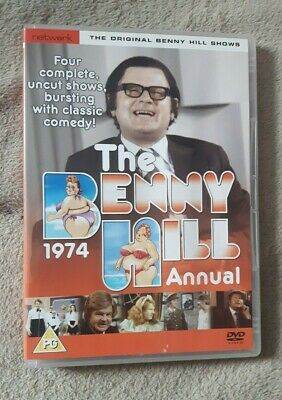 £4.99 • Buy THE BENNY HILL ANNUAL 1974. TV Series. Uk Region 2 DVD - EXCELLENT CONDITION