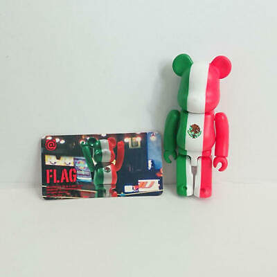 $18 • Buy MEDICOMTOY Flag Mexico Bearbrick 100% BE@RBRICK Series 21 Normal Approx. 70mm