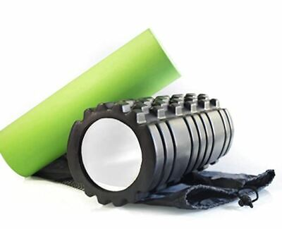 AU48.11 • Buy Foam Roller Premium 2in1 Set - For Muscle Stretching, Exercise, Deep-Tissue Mass