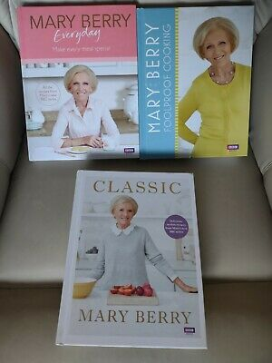 £8.99 • Buy 3 X New Mary Berry Cook Books Everyday Classic Foolproof Cooking Bbc Hardback