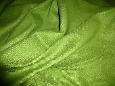 £5.99 • Buy Gorgeous  Wool Blend Fabric Remnant Colour Lime