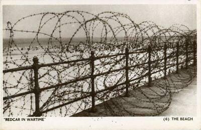 £15 • Buy Real Photo Postcard Of Redcar In Wartime - The Beach, North Yorkshire