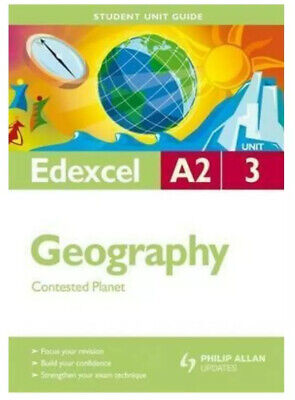 £3.49 • Buy Edexcel A2 Geography: Unit 3: Contested Planet (Student Unit Guides) [paperback]