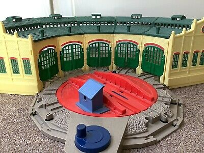 £14.99 • Buy Trackmaster Thomas The Tank Engine Tidmouth Sheds With Turntable