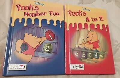 £2.95 • Buy Ladybird Disney's  Winnie The Pooh -  Pooh's A To Z + Pooh's Number Fun.