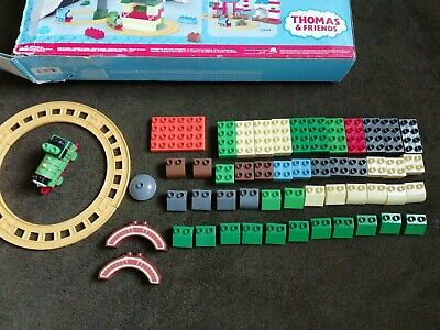 £11 • Buy Mega Bloks Thomas & Friends Percy Train Set +spares For Fun At Tidmouth Sheds 58