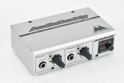 $24.95 • Buy M-Audio AudioBuddy Dual Mic Preamp/Direct Box For Microphones - Unit Only - C15