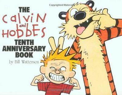 £3.25 • Buy The Calvin And Hobbes Tenth Anniversary Book By Bill Watterson