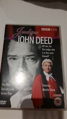 £4 • Buy Judge John Deed - The Pilot Episode And Series One