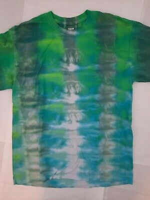 £7.08 • Buy Tie Dye T-Shirt - HandDyed W/ Real Quality Dyes By Goparel - In 2021 - NWT