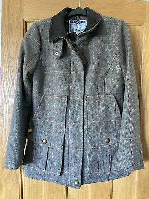 £80 • Buy Stunning Joules Tweed Field Coat Size 12 Excellent Condition