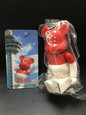 $18 • Buy MEDICOMTOY Flag Singapore Bearbrick 100% BE@RBRICK Series 32 Normal Approx. 70mm