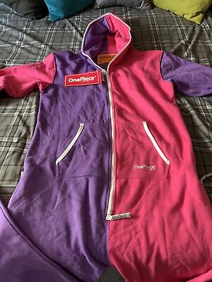£60 • Buy New ONEPIECE Of NORWAY Purple/pink All In 1 Jump In Jumpsuit Loungewear Size L