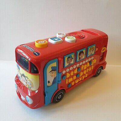 £16.99 • Buy Vtech Playtime Bus Phonics Learning Educational Kids Great Condition Working