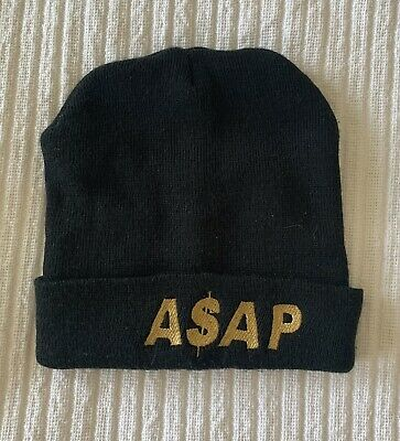 £2.50 • Buy ASAP Rocky Beanie Hat Unisex One Size Fits All Black