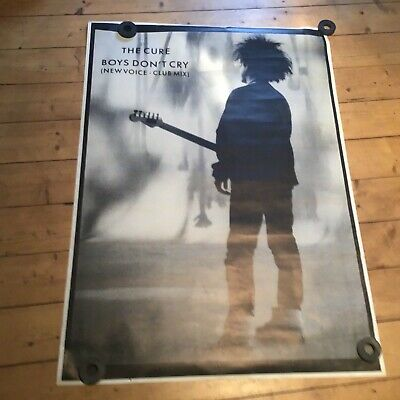 £50.67 • Buy The Cure. Boys Don't Cry.  XXL Promo Poster 137 X 96,5 Cm Post Punk