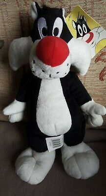 £5.99 • Buy Sylvester Cat Looney Tunes Vintage Soft Toy Boots