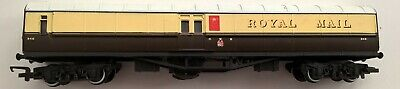 £16 • Buy Hornby OO Gauge R4108 ROYAL MAIL TRAVELLING POST OFFICE GWR Brown & Cream No.848
