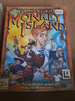 £24.99 • Buy Escape From Monkey Island  Big Box Pc Game  Lucas Arts