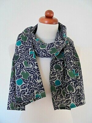 £2.99 • Buy Seasalt - The Lovely  'millie Scarf' - Pure Cotton With A Pretty Botanic Print