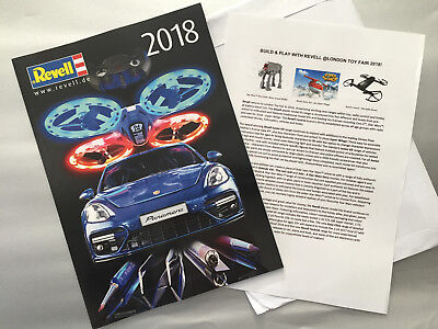 £16.49 • Buy Revell Catalogue 2018 (Brand New) + RARE TOY FAIR PRESS RELEASE