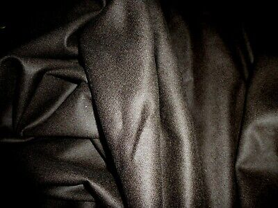 £5.99 • Buy Gorgeous 100% Boiled Wool Fabric Remnant Colour Dark Chocolate