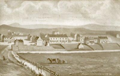 £10 • Buy Printed Postcard Of Middlesbrough In 1836, (near Stockton), North Yorkshire