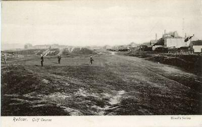£10 • Buy Printed Postcard Of Redcar Golf Course, (near Saltburn), North Yorkshire By Hood