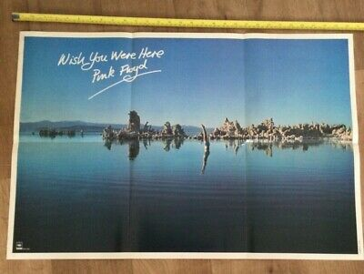 £24.99 • Buy Pink Floyd Wish You Were Here Poster Record Shop Poster Rare