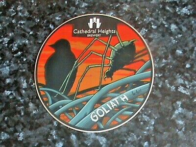£6.99 • Buy Cathedral Heights Goliath Beer Pump Clip Front
