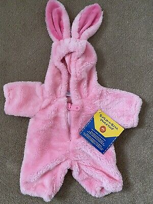 £20 • Buy Build A Bear Workshop USA Outfit Clothes Pink Rabbit All In One Unusual Rare Pjs