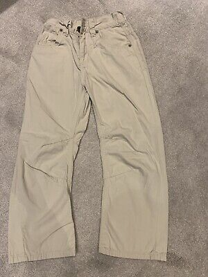 £1.10 • Buy Boys Next Stone Coloured Trousers Age 7