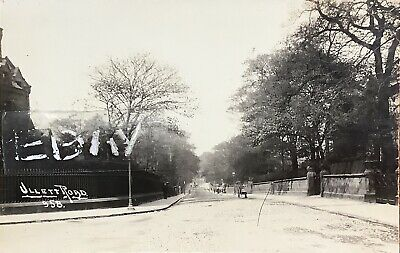 £30 • Buy Ullet Road, Princes Park, Liverpool. Real Photographic Postcard.