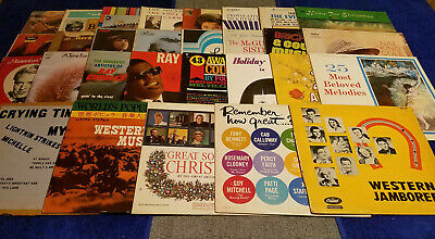 £126.75 • Buy Vintage 1950s-1960s Misc Records (35 Pc) Lot